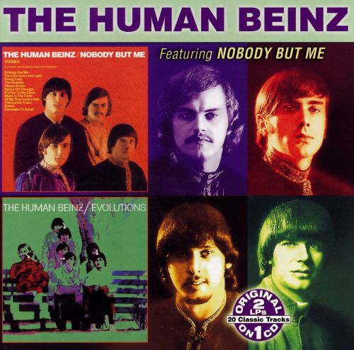 Nobody But Me/Evolutions - The Human Beinz