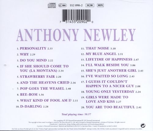 The Very Best of Anthony Newley