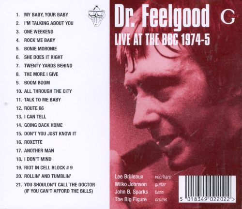 Live at the BBC, 1974-5