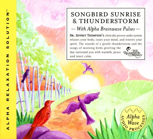 Songbird Sunrise & Thunderstorm