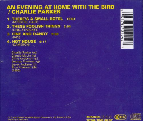 An Evening at Home with the Bird