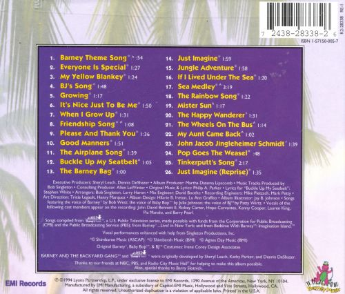 Barney S Favorites Vol 2 Barney Songs Reviews