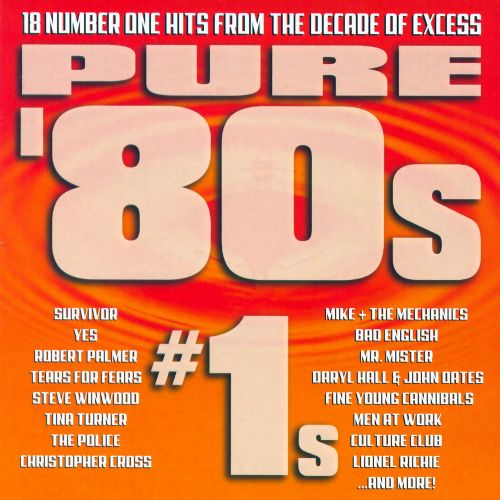 pure 80s 1s various artists songs reviews credits