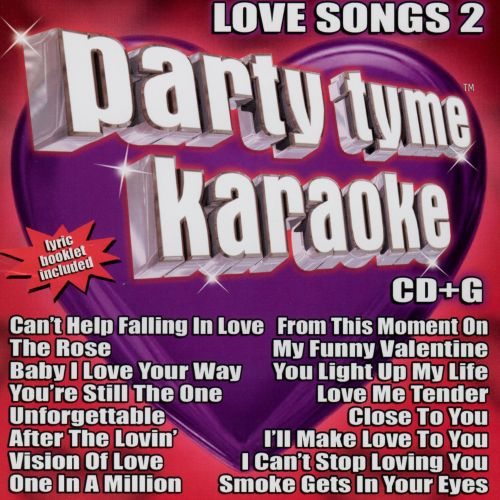 Party Tyme Karaoke: Love Songs, Vol. 2