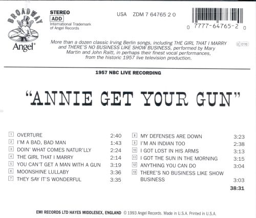 Annie Get Your Gun [Original TV Soundtrack]