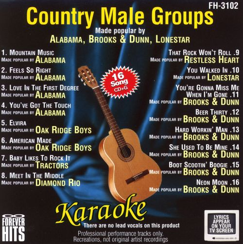 Forever Hits Karaoke: Country Male Groups