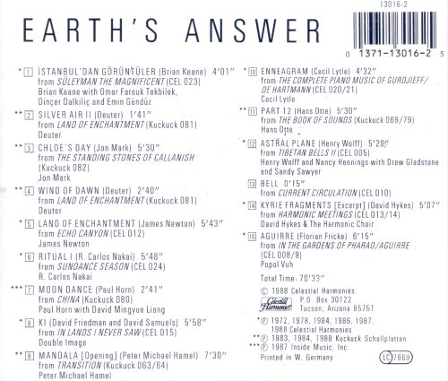 earths answer