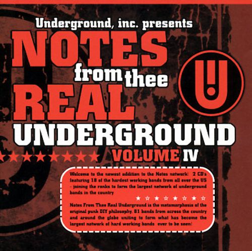 Notes from Thee Real Underground, Vol. 4