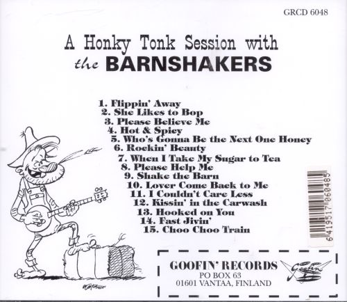 A  Honky Tonk Session With the Barnshakers