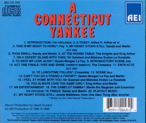A Connecticut Yankee [Original Television Soundtrack]