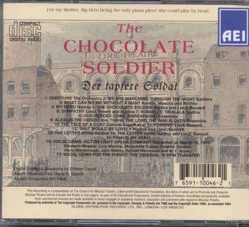 Oscar Straus: The Chocolate Soldier