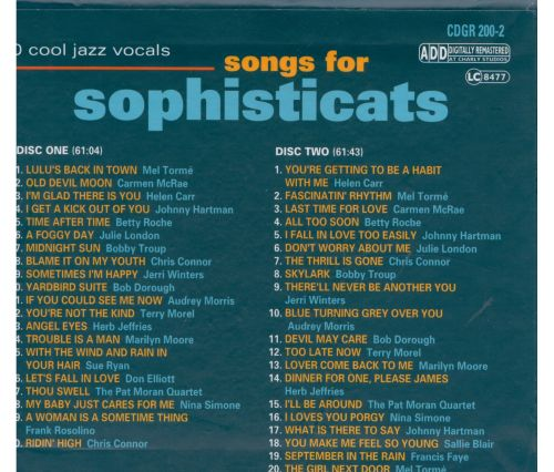 Songs for Sophisticats