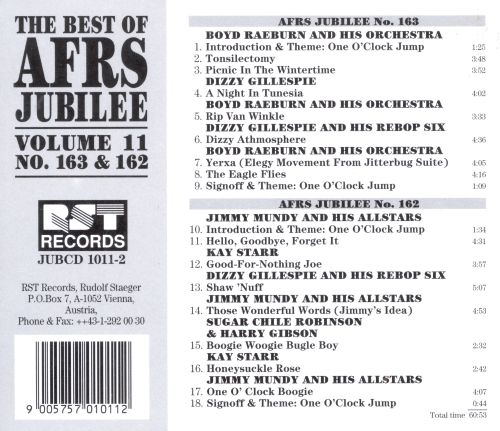 Best of AFRS Jubilee 163 & 162, Vol. 11
