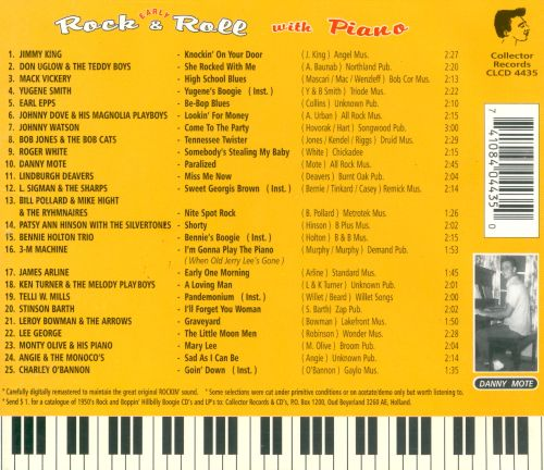 Rock and Roll With Piano, Vol. 1