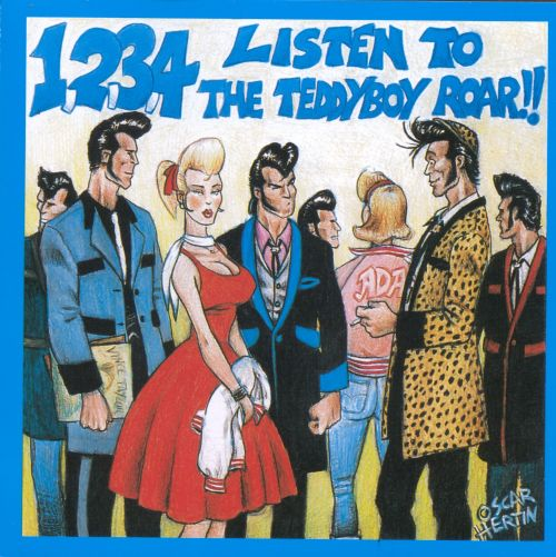 1-2-3-4 Listen to Teddy Boy Roar