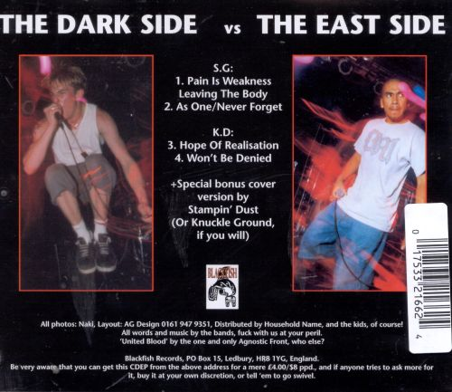 The Dark Side Versus the East Side