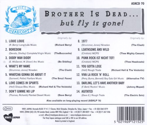 Brother Is Dead... But Fly Is Gone!