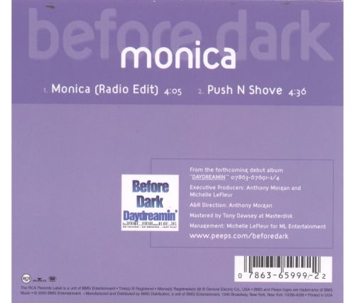 Before Dark [CD5/Cassette Single]