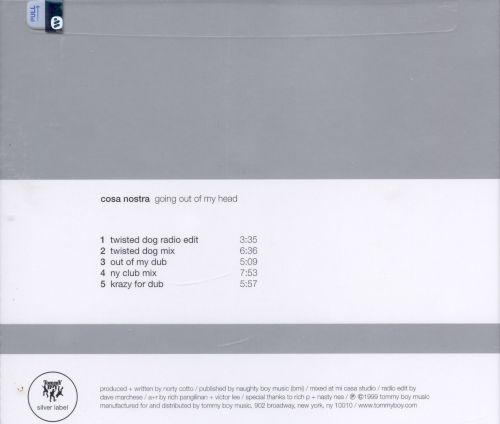Going Out of My Mind [CD/Vinyl Single]
