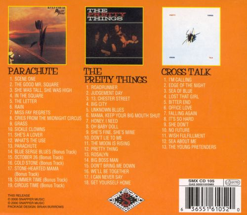 Parachute/Pretty Things/Cross Talk