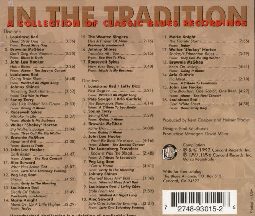 In the Tradition: Collection of Classic Blues