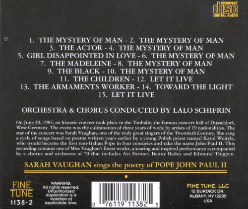 The Gold Collection: Sings the Poetry of Pope John Paul II