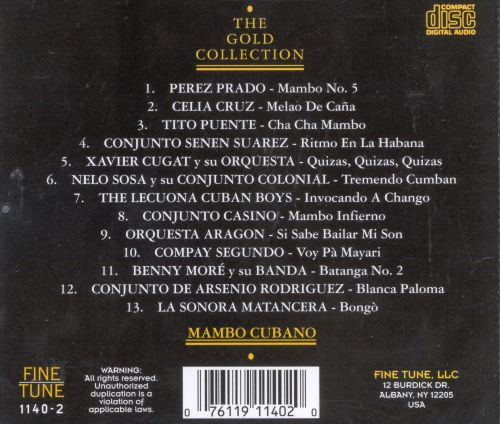 The Gold Collection: Mambo Cubano-The Golden Age: 1940-1960