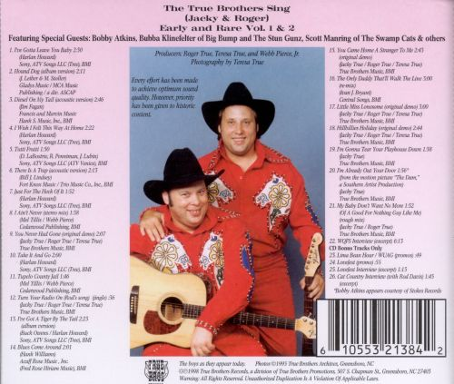 True Brothers Sings: Early and Rare, Vol. 1 & 2