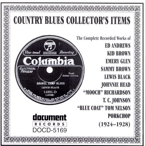 Country Blues Collector's Items (1924-1928)
