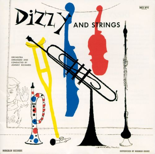 Jazz from Paris/Dizzy and Strings