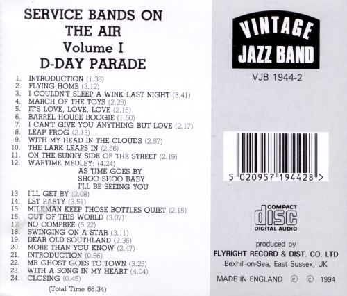 Service Bands, Vol. 1: D-Day Parade