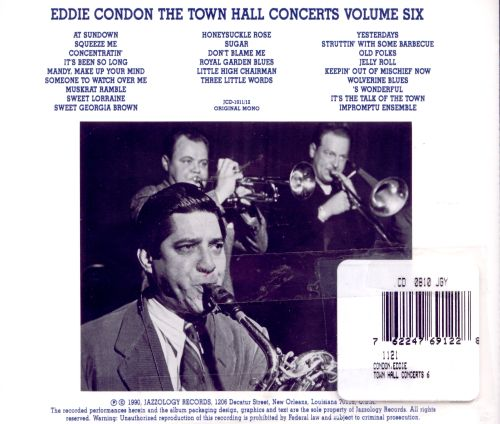 The Town Hall Concerts, Vol. 6