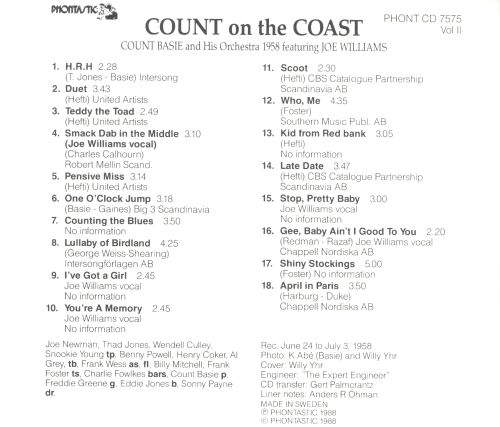 Count on the Coast, Vol. 2