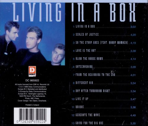The Best of Living in a Box - Living in a Box | Songs, Reviews ...