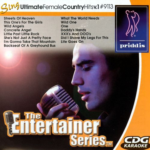 Sing Ultimate Female Country Hits V.1