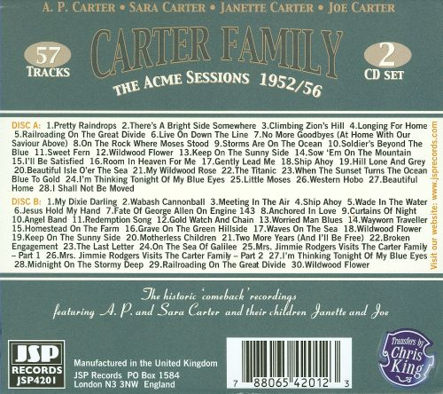 The Acme Sessions, 1952-56