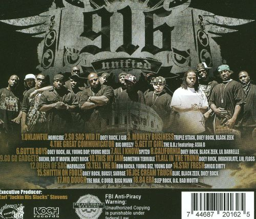 Sick Wid It Records & Doey Rock Presents 916 Unified