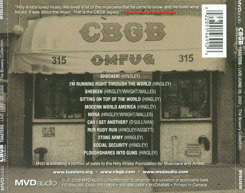 CBGB & OMFUG Masters: The Bowery Collection: Live June 28, 2002