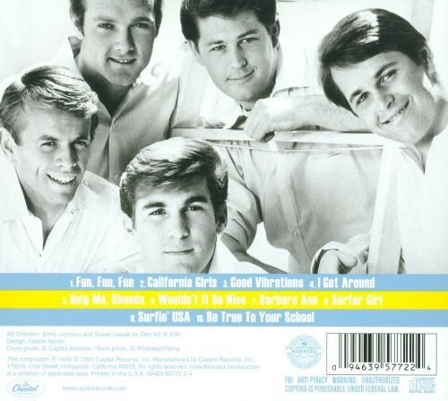 The Best of the Beach Boys [Green Series]