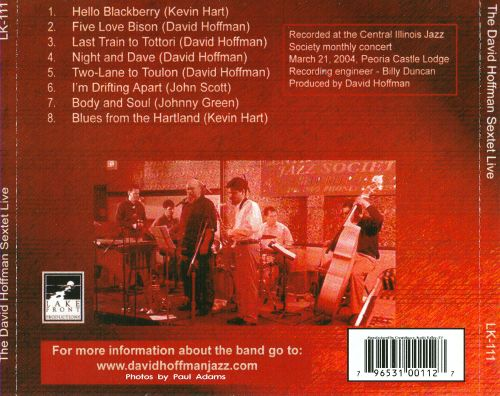 The David Hoffman Sextet Live
