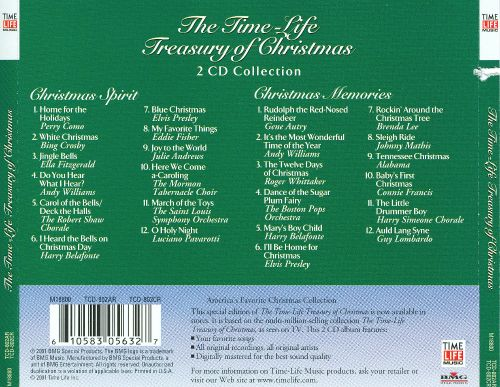 Time-Life Treasury of Christmas - Various Artists | Songs, Reviews ...