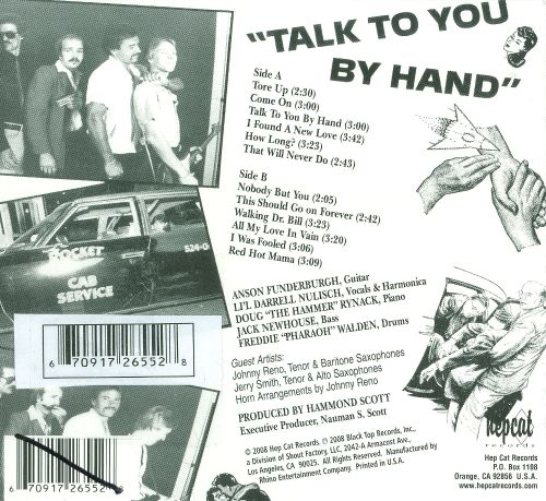 Talk to You by Hand
