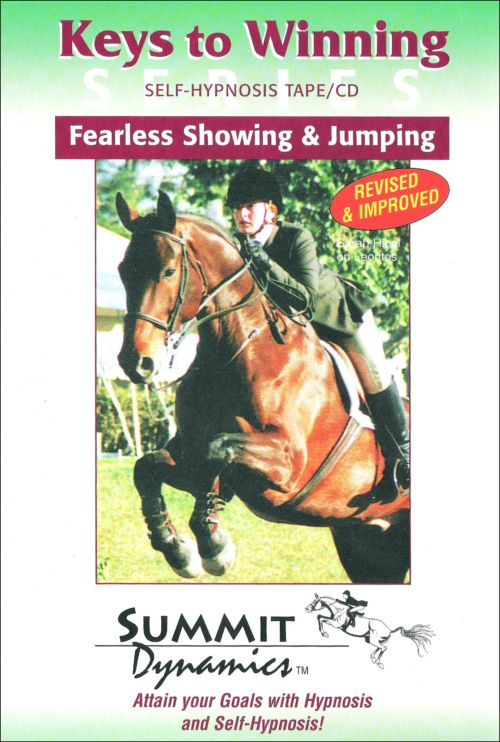 Self Hypnosis CD For Fearless Equestrian Showing And Horse Jumping