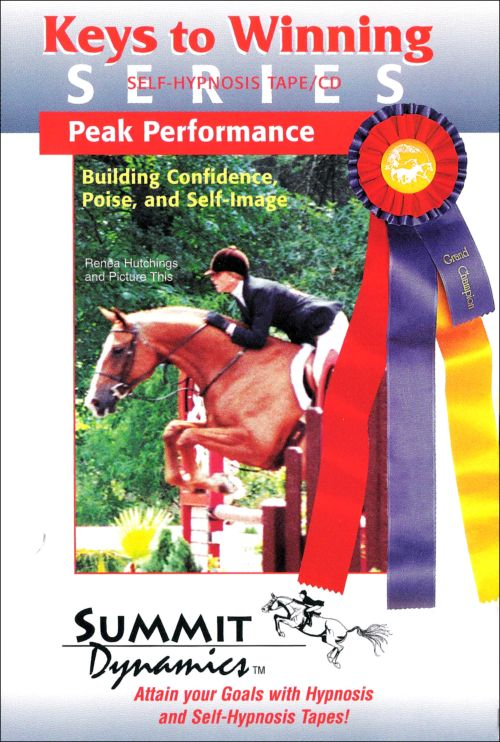 Self Hypnosis & Peak Performance Building Confidence, Poise And Self-Image
