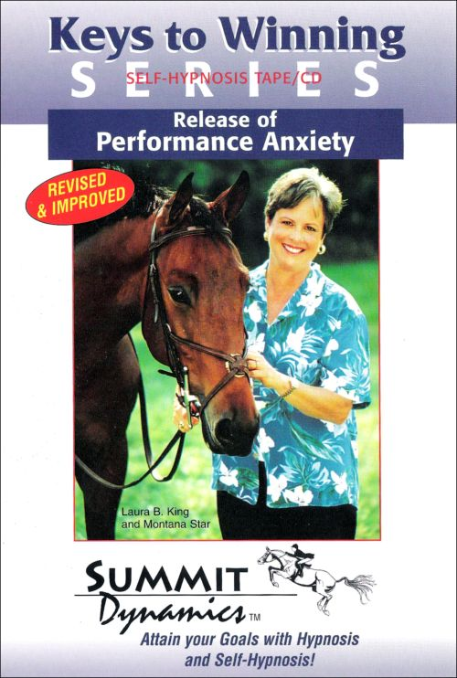Self Hypnosis to Release of Performance Anxiety for the Equestrian