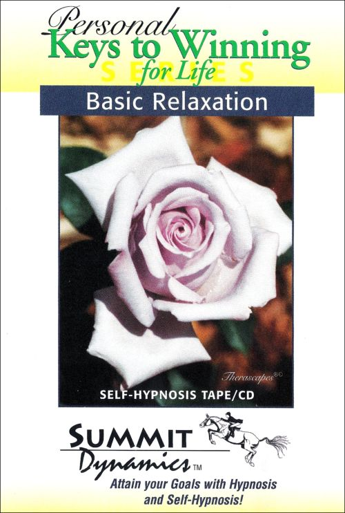 Basic Relaxation Self-Hypnosis Tape/CD