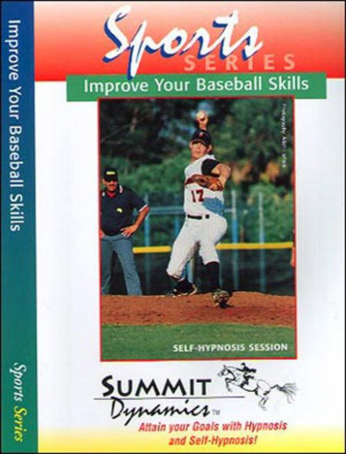 Improve Your Baseball Skills with Self Hypnotherapy CD