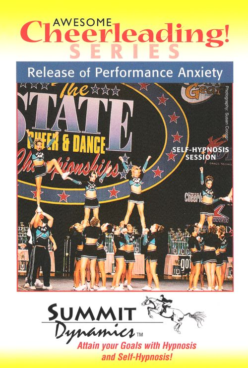 Self Hypnosis CD: Release Performance Anxiety for the Cheerleader