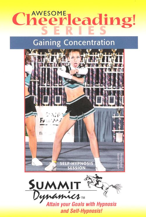 Hypnotherapy CD: Gaining Concentration for the Cheerleader