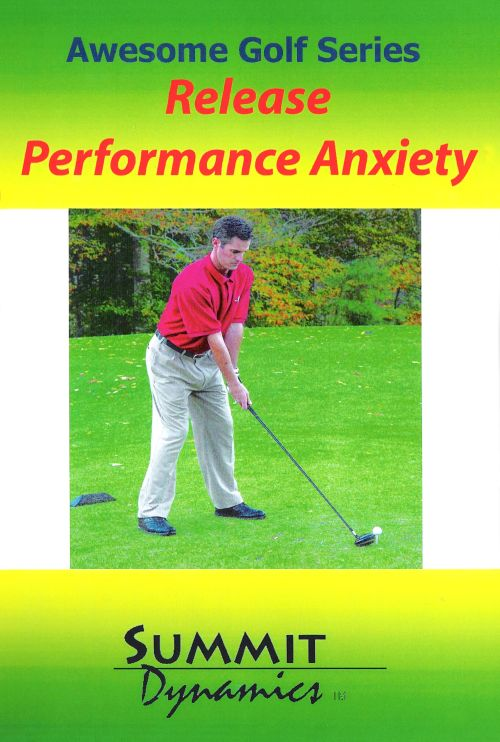 Release Performance Anxiety for Golf Self Hypnosis CD